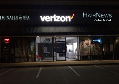 Verizon Exterior Wall