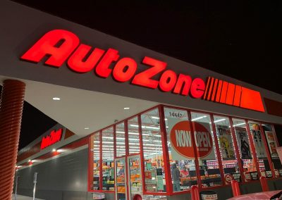 Auto Zone Night